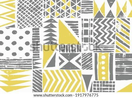 african tribal, azteca, navajo, summer seamless pattern design