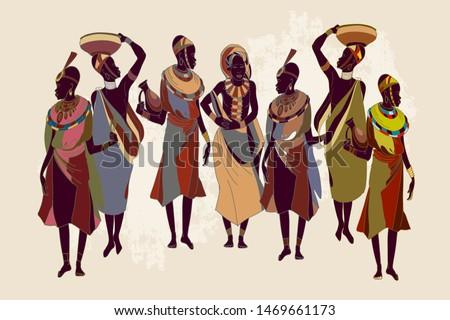 african women in national