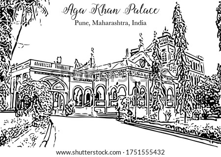 aga khan palace was built in