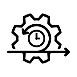 Agile icon, vector illustration