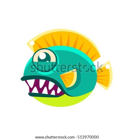 agressive round turquoise