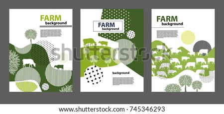 agricultural brochure layout