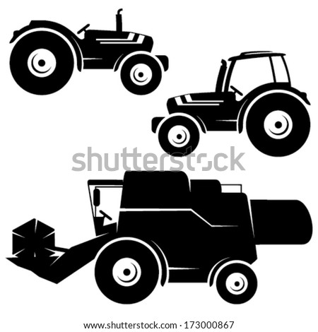 agricultural vehicle icons
