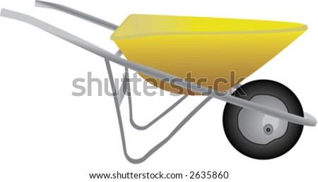 agriculture, garden, wheelbarrow