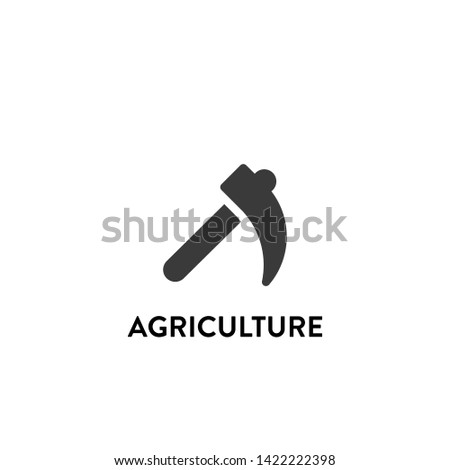 agriculture icon vector. agriculture vector graphic illustration