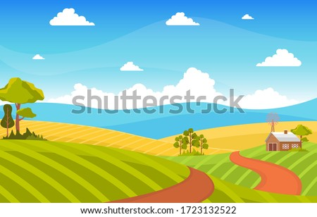agriculture wheat field farm