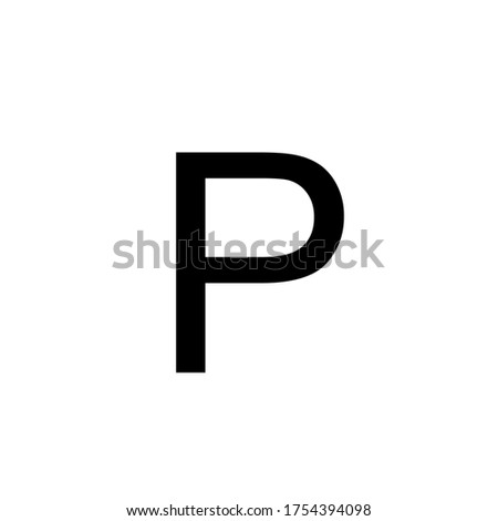 Aiga Symbol Signs. Parking sign