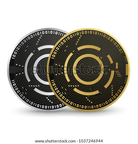 aion digital currency vector