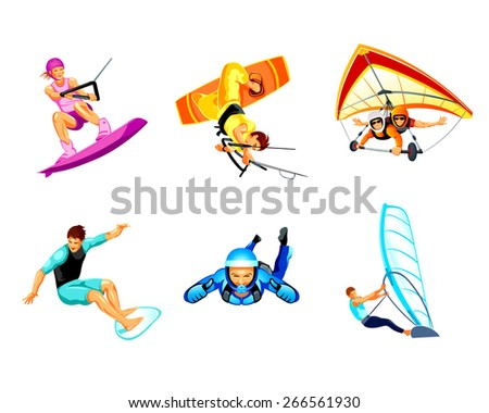 air and water extreme sport