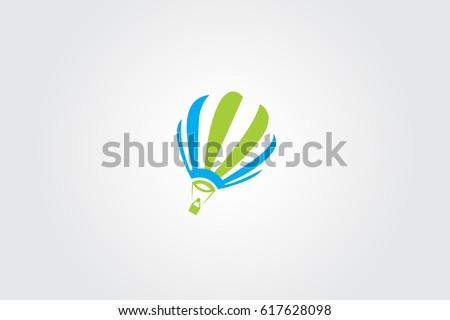 Air Balloon Technology Logo