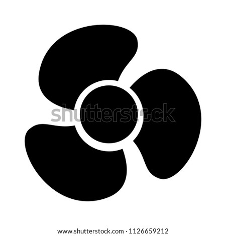 air cooler fan illustration - vector cooler. electric turbine sign symbol