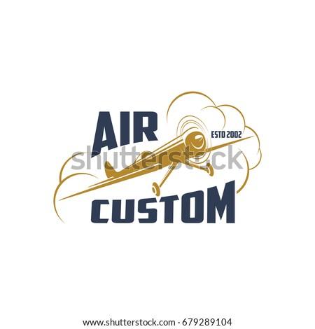 air custom icon of retro...