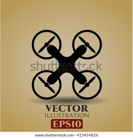 Air Drone high quality icon