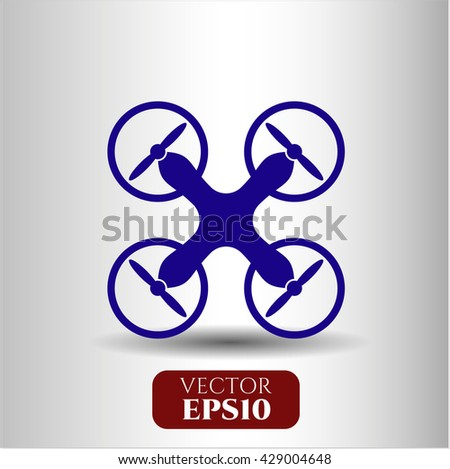 Air Drone icon or symbol