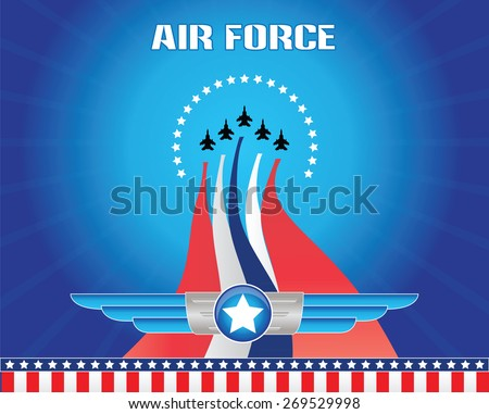 air force illustration  for