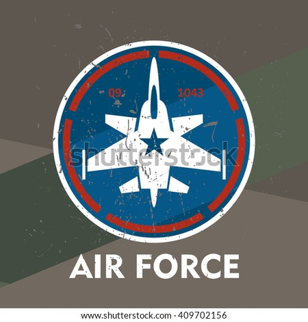 air force   military stamp