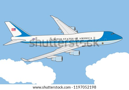 Air Force One Presidential plane