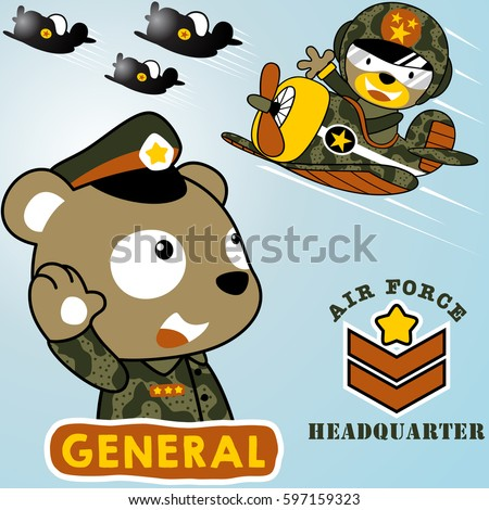 air force squadron in military