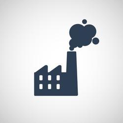 Air Pollution vector logo icon illustration