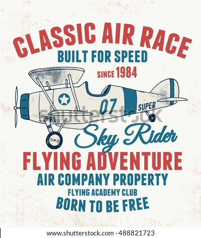 air racing illustration