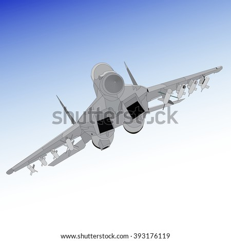 air superiority fighter on a