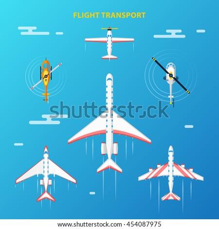 air transport at flight