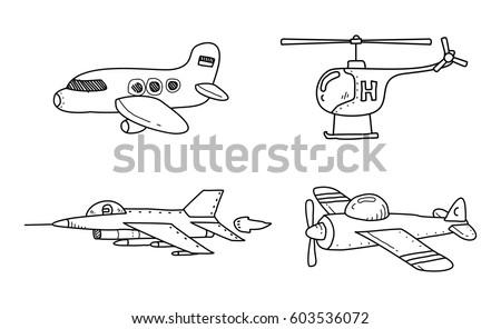 air transport doodle