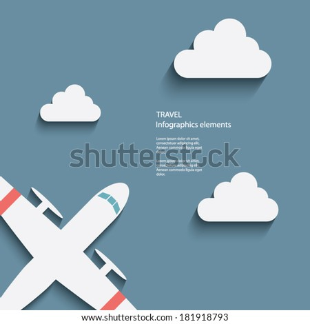 air travel infographics