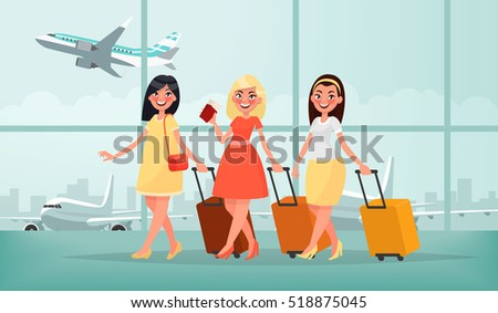 air travel to warm countries