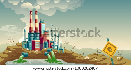 air  water and soil pollution