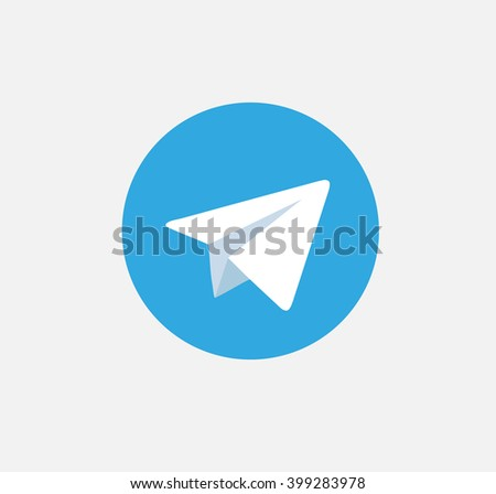 aircraft blue button icon