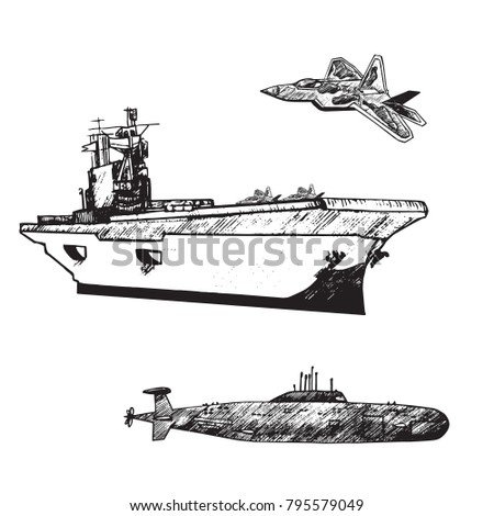 aircraft carrier typical with