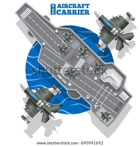 aircraft carrier view from