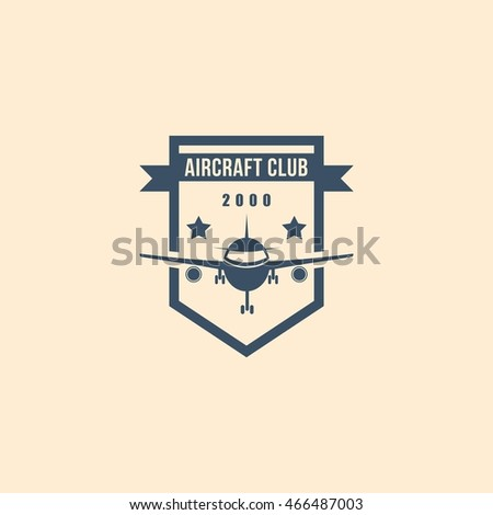 aircraft club vector