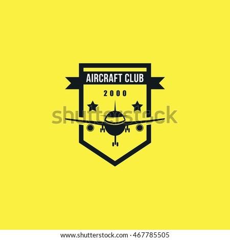aircraft club vector