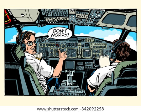 aircraft cockpit pilots
