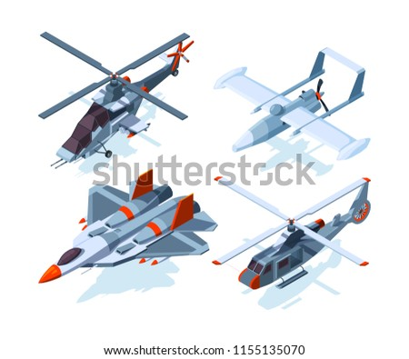aircraft isometric warplanes