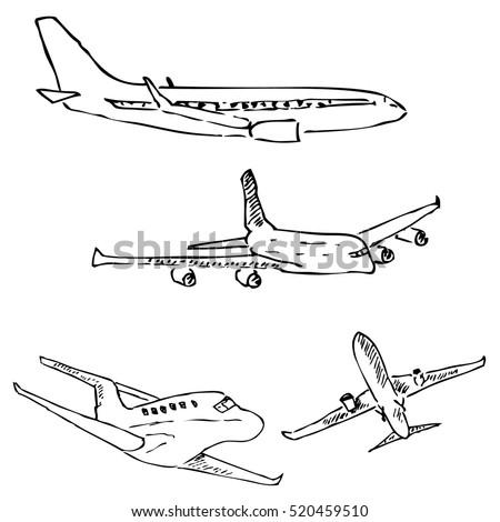 Airplane Sketches Tower Dlugopisyreklamowe Co
