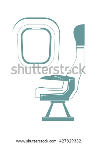 aircraft seat and porthole