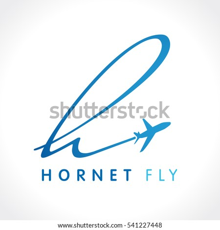 airline business travel logo