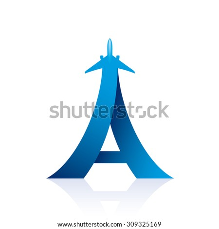 airline logo design with