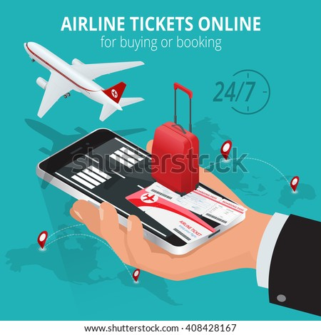 airline tickets online. buying...