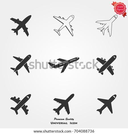 Airplan icons, Airplan icons vector, Airplan icons image, Airplan icons illustration