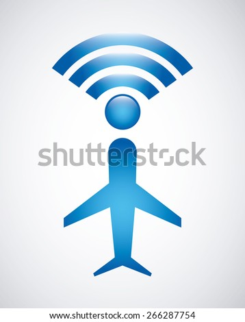 airplane concept design  vector