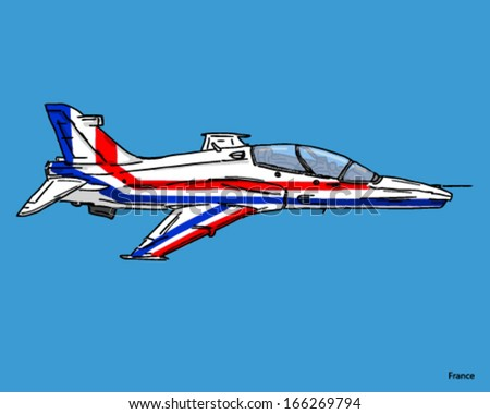airplane fighter jet french