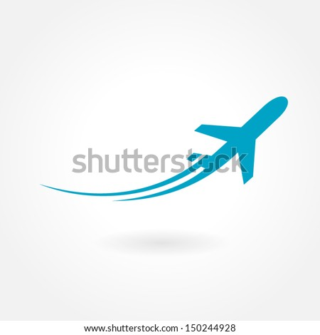 airplane flight tickets air fly travel takeoff silhouette element