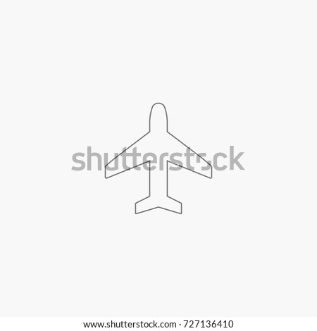 airplane icon army sign