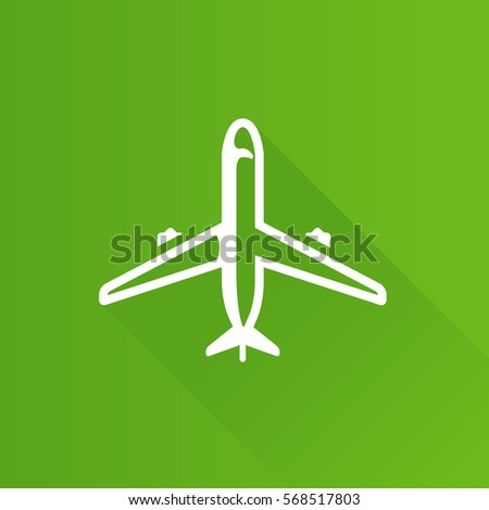 airplane icon in metro user