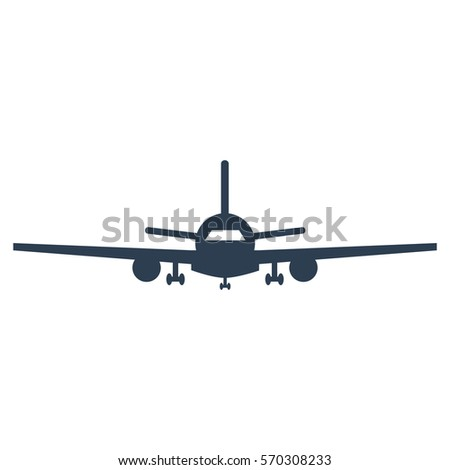 stock-vector-airplane-icon-on-white-background-vector-illustration