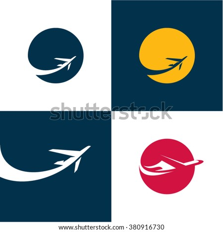 airplane icons airlines plane